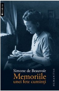 Memoriile unei fete cuminti, Simone de Beauvoir