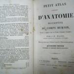 PETIT ATLAS COMPLET D'ANATOMIE DESCRIPTIVE DU CORP HUMAIN, Paris, 1852
