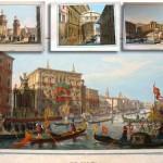 STAMPE VENETIENE, Litografia Brizeghel din Venetia, 1856-1857